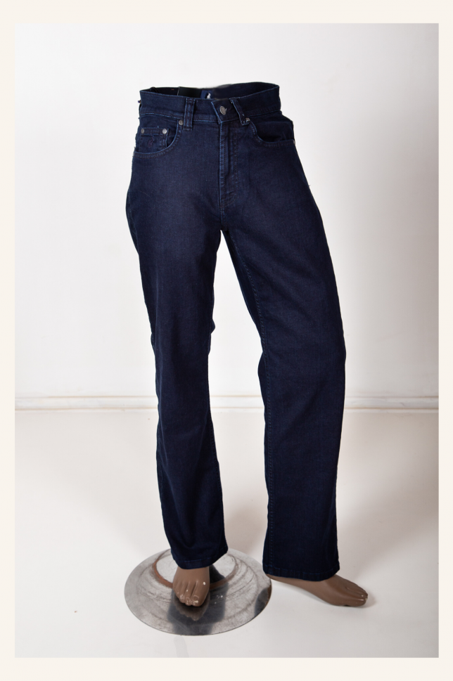 Blue/Black POLO Denim Stretch Pants
