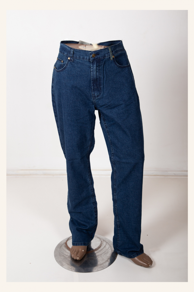 Blue DSL Denim Works Stretch Pants